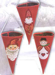 219541 Permin Christmas Cups Red (3pcs)