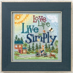 MH142101 Mill Hill Live Simply (2012) Buttons and Bead Kit