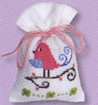 PNV147232 Vervaco Kit Pink Bird