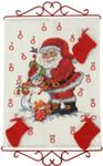 344530 Permin Santa/Snowman Advent Calendar