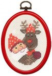 135275 Permin cones Elf & Rudolf