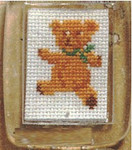 118111 Permin Key Ring - Teddy Bear