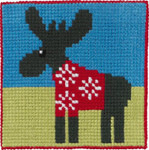 9240 Permin Moose in Sweater