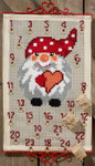 345221 Permin Kit Pixy w/Dots Advent Calendar