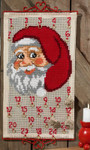 345220 Permin Kit Santa Face Advent Calendar