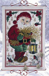 343654 Permin Kit Old Saint Nick  Advent Calendar