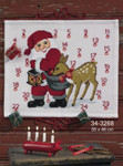 343268 Permin Kit Santa with Deer