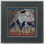 MH144204 Mill Hill Buttons and Bead Kit Ravens (2014)
