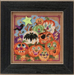 MH145206 Mill Hill Buttons and Bead Kit Painted Pumpkins (2015)