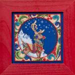 JS304101 Mill Hill Reindeer by Jim Shore (2014)