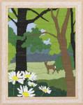 701657 Permin Long Stitch Kit Deer