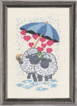 925348 Permin Sheep Love Umbrella