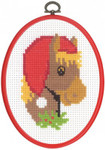 124265 Permin Cross Stitch Kit Horse