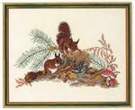 7712826 Eva Rosenstand Cross Stitch Kit Squirrels