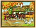 7714202 Eva Rosenstand Cross Stitch Kit Stagecoach