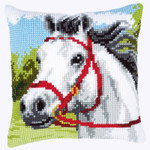 PNV144434 Vervaco Cross Stitch Kit White Horse