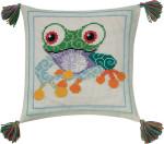 833876 Permin Frog Pillow