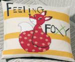 834324 Permin  Kit Feeling Foxy   Pillow