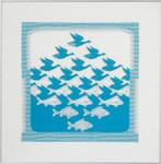 705343 Permin Bird/Fish Turquoise