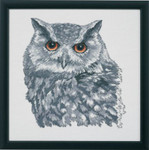 904112 Permin Owl in Grey