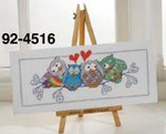 924516 Permin Owls on Sprig