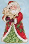 JS205106 Mill Hill Best Friend Santa by Jim Shore (2015)