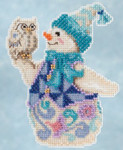 JS205103 Mill Hill Kit Snowy Owl Snowman by Jim Shore (2015)