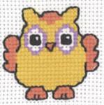 143332 Permin Orange Owl
