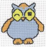 143334 Permin Blue Owl