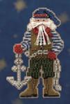 MH200303 Mill Hill Santa Ornament Kit Boatswain Santa (2010)