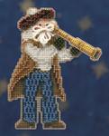MH200302 Mill Hill Santa Ornament Kit First Mate Santa (2010)