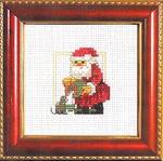 143233 Permin Santa With Kitty
