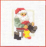 143231 Permin Santa Putting On Boots