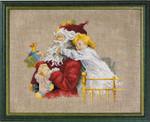 120206 Permin Santa & Child