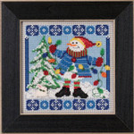 MH145303 Mill Hill Buttons and Bead Kit Mr. Jack Frost (2015)