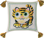 833879 Permin Tiger Pillow Cat