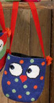 195306 Permin Owls Bag (Dots)