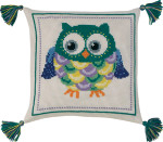 833877 Permin Owl Pillow