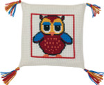 834198 Permin Owl Pillow