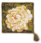 RL1101 Riolis Cross Stitch Kit White Peony Cushion
