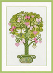 RL1295 Riolis Cross Stitch Kit Tree of Happiness
