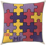 831311 Permin Puzzles Pillow
