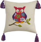 832858 Permin Owl Pillow