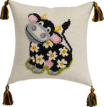 832860 Permin Cow Pillow