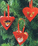 015236 Permin Heart Tree Ornament