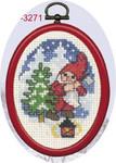 133271 Permin Elf with Spruce