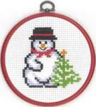 131295 Permin Snowman w/Tree