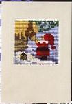 171282 Permin Santa Feeding Reindeer