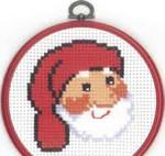 131292 Permin Santa Face