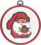 131294 Permin Santa w/Bird